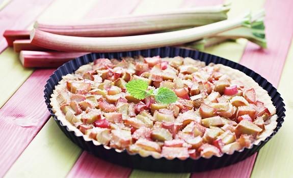 Rabarbertærte