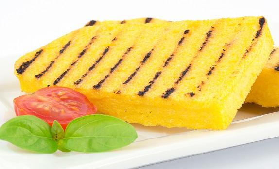 Grillet polenta