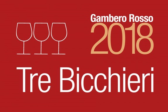 Gambero Rosso 2018 har givet 3 glas til 22 vine fra Sicilien.