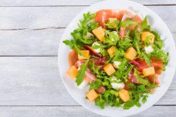Sommersalat med melon